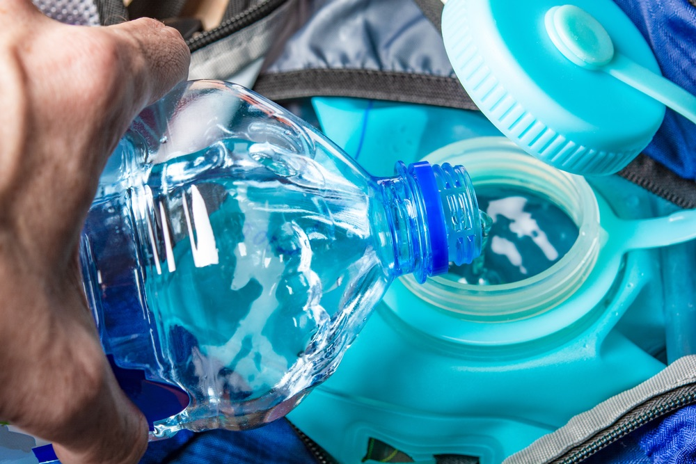 Water Bottle and Hydration System