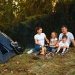 Camping with child